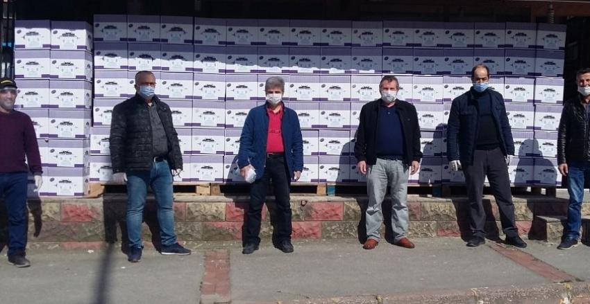 Trabzonlular Derneği'nden Gıda Yardımı