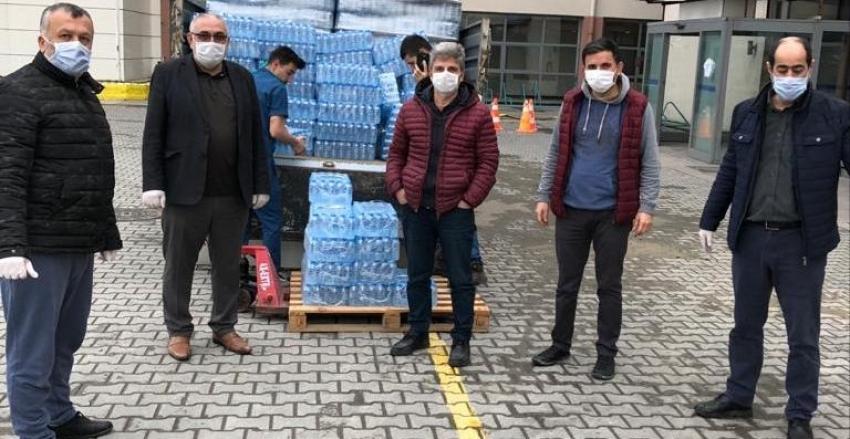 Trabzonlular Derneği Sağlıkçıların Yanında